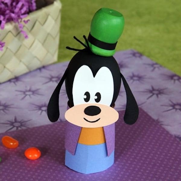 Huevos decorados con Goofy
