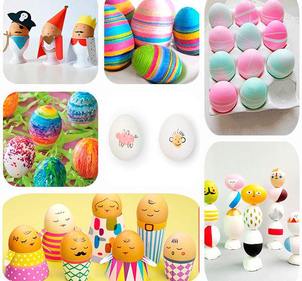 7 ideas para decorar huevos de Pascua | Pequeocio.com