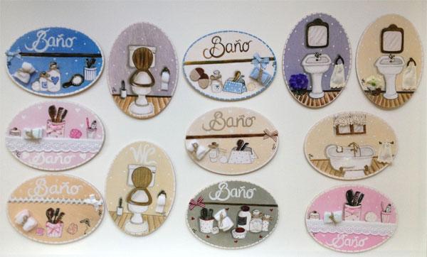 Mini placas artesanales para decorar la habitación infantil