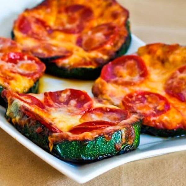 pizza de verdura