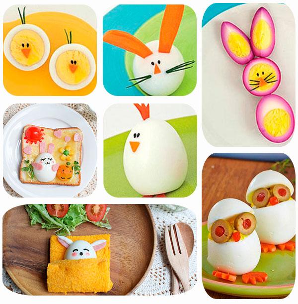 Recetas con huevo para pascua muy divertidas pequeocio for Cocina divertida para ninos