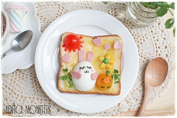 recetas divertidas con huevo