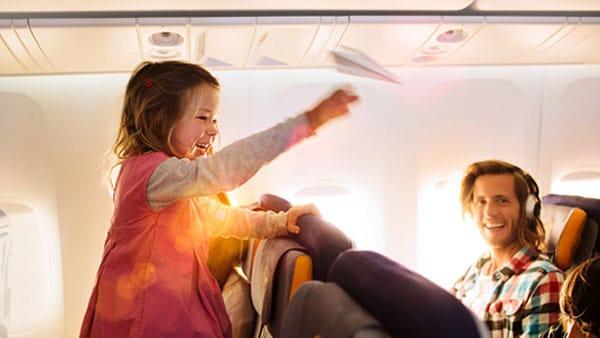Mejores aerolíneas para volar con niños
