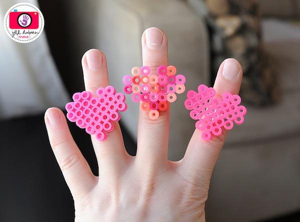 patrones anillos hama beads