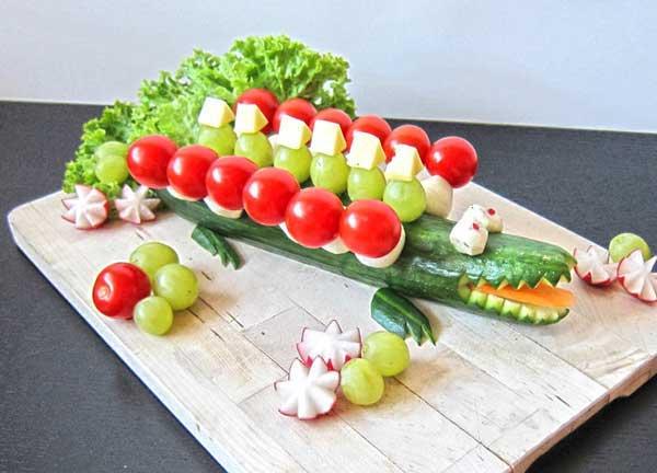 7 recetas f ciles para ni os de animalitos pequeocio - Decoracion de ensaladas ...