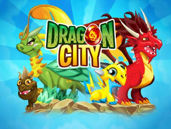 App infantil gratis: Dragon city, ¡construye tu reino!