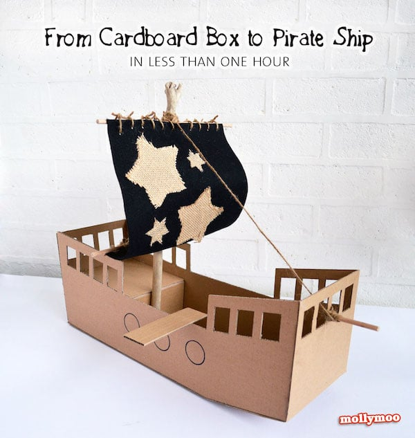 6 Manualides Infantiles de Piratas Pequeocio