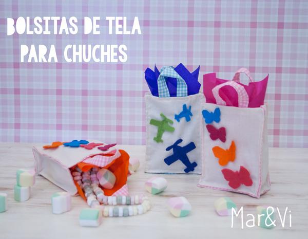d9fee83e9 Fiestas infantiles: bolsitas de tela para chuches | Pequeocio.com