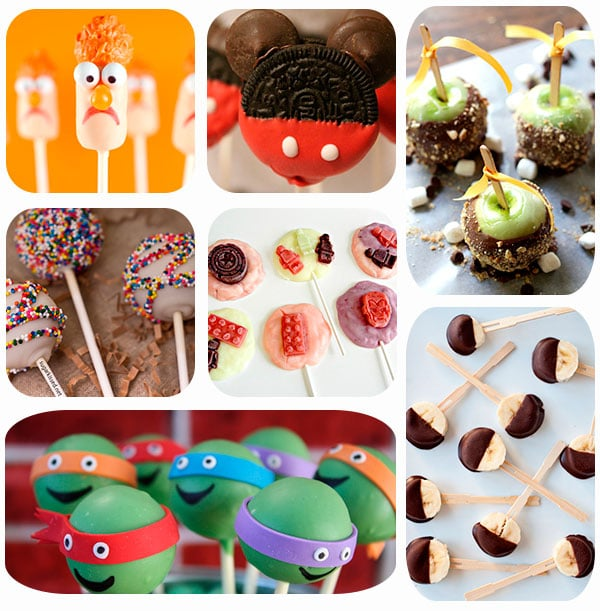 cake pops y piruletas para fiestas infantiles