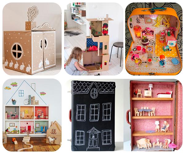 5 casas de mu ecas caseras pequeocio for Casas y cosas