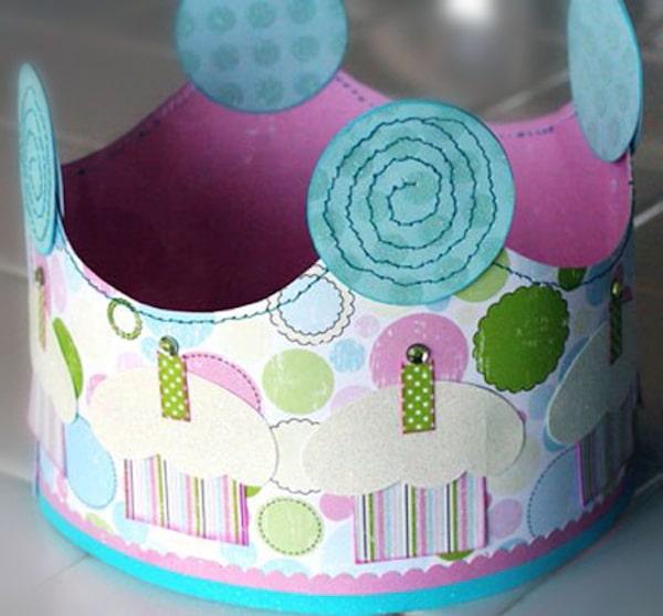 Cómo hacer una corona de papel