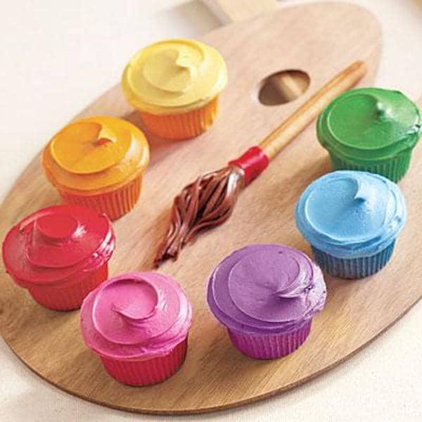 Paleta de cupcakes