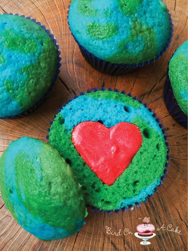 Cupcakes de la Tierra