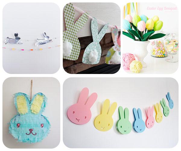 Ideas divertidas para decorar en Pascua
