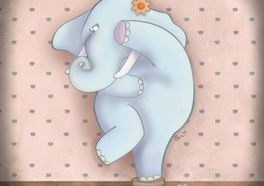 """Cuento en inglés: """"Elephant Amaranta's Fear"""" 1"""