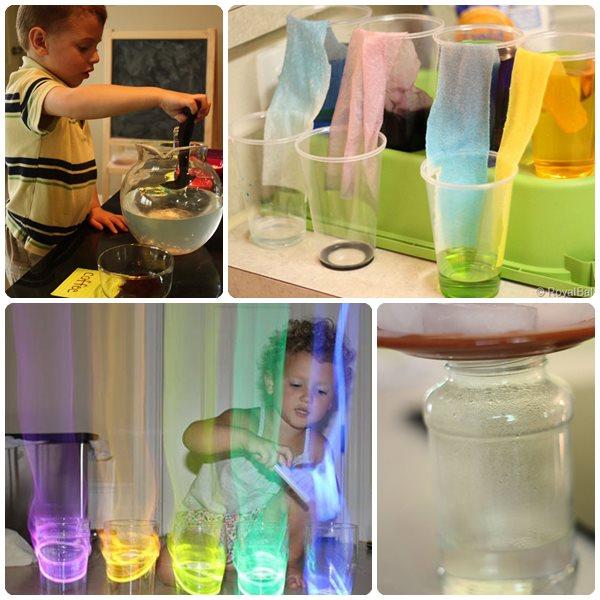 4 experimentos para ni os con agua pequeocio - Trabajos caseros para hacer en casa ...