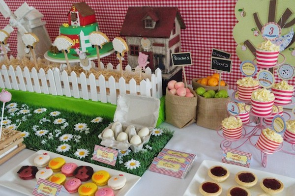 4 fiestas infantiles de animales pequeocio for Decoracion fiesta infantil nina
