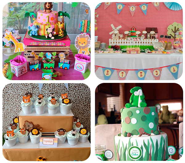4 fiestas infantiles de animales pequeocio - Ideas fiestas tematicas ...