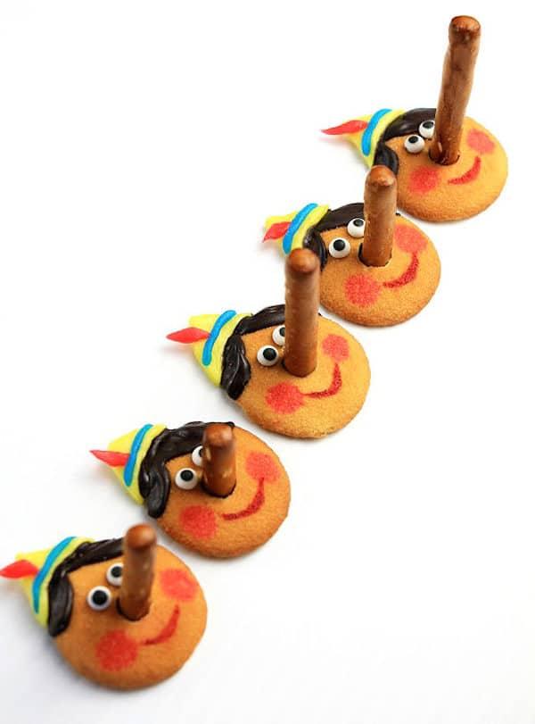 galletas divertidas de pinocho