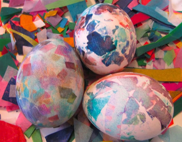 Experimentos infantiles con huevos