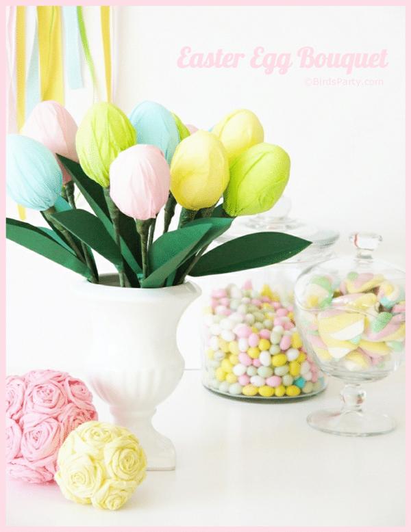 Ramo de huevos de Pascua