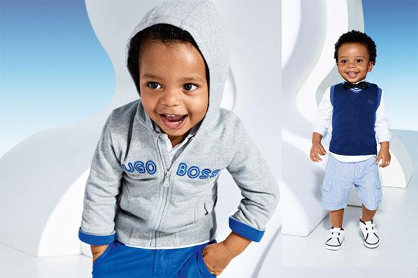 Hugo Boss niños, verano 2014
