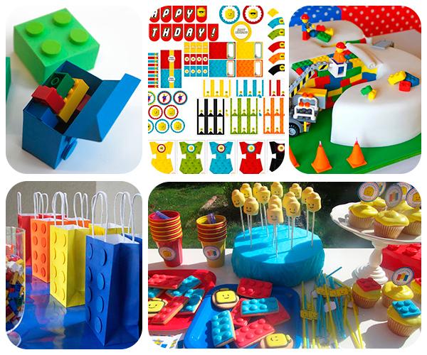 Ideas caseras para una fiesta infantil de lego pequeocio - Fiesta de cumpleanos infantil ideas ...