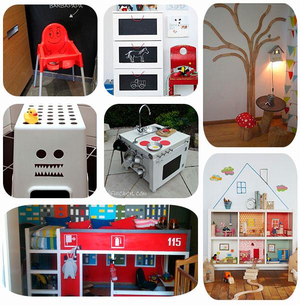 7 ideas para personalizar los muebles de ikea pequeocio - Ikea muebles infantiles ...