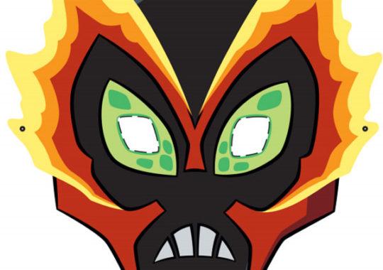 Máscaras de Ben 10