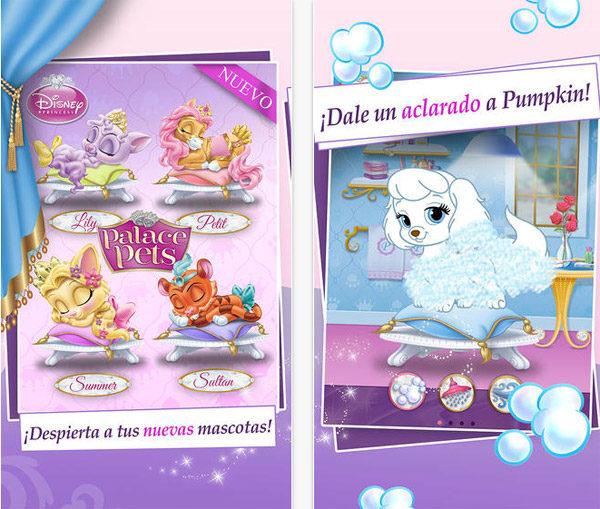Palace Pets, app infantil de Disney ¡gratis!