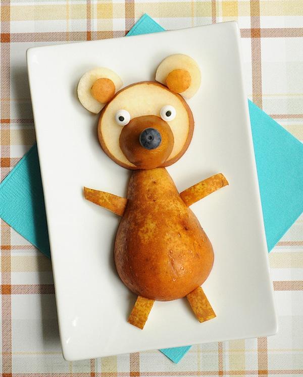 postres para niños con fruta