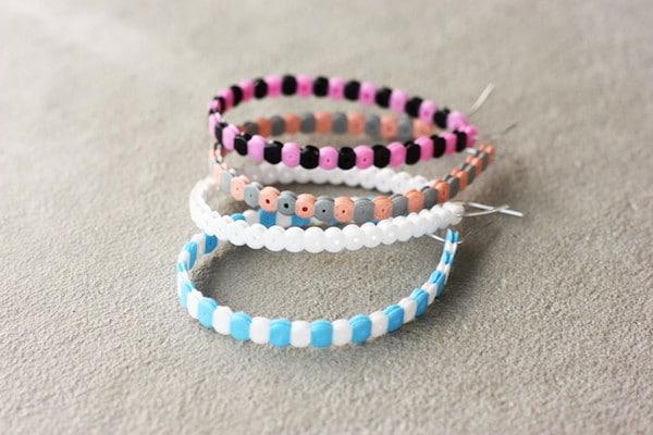 pulseras de hama beads