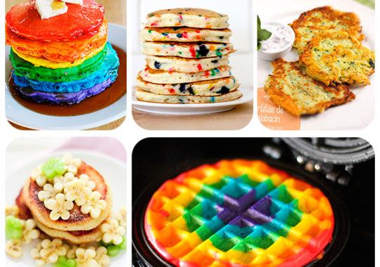 Recetas de tortitas americanas