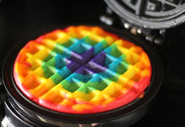 tortitas arco iris