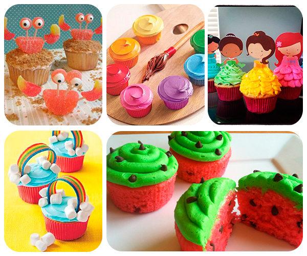Recetas de cupcakes fáciles y divertidos