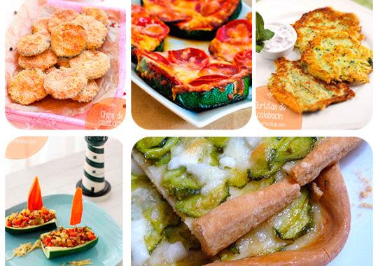 recetas fáciles y divertidas con calabacín