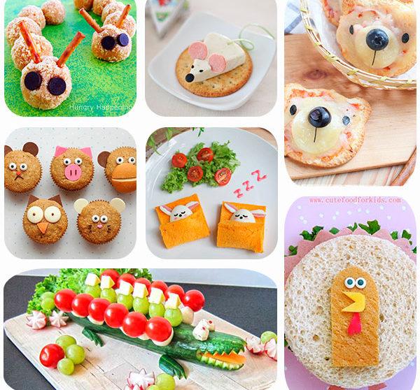 7 recetas f ciles para ni os de animalitos for Comida facil y sencilla