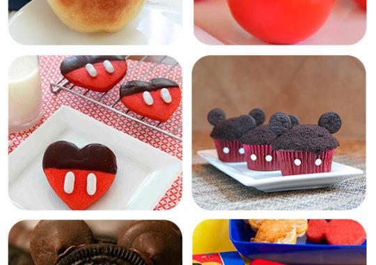 Recetas divertidas para una fiesta de Mickey