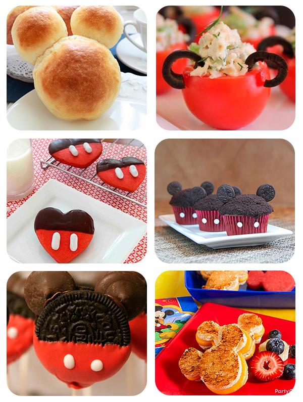 6 recetas divertidas para una fiesta de mickey mouse - Comidas de cumpleanos infantiles ...