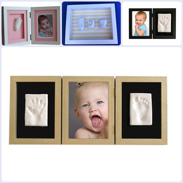 Regalos para bautizos: marcos con huellas del bebé | PequeOcio ...