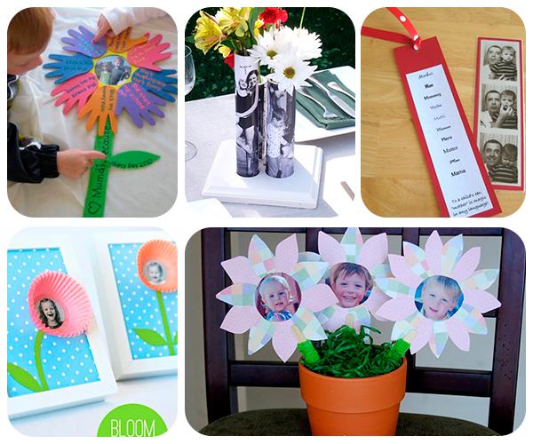 5 regalos del d a de la madre con fotos pequeocio for Fotos originales de bebes para hacer en casa