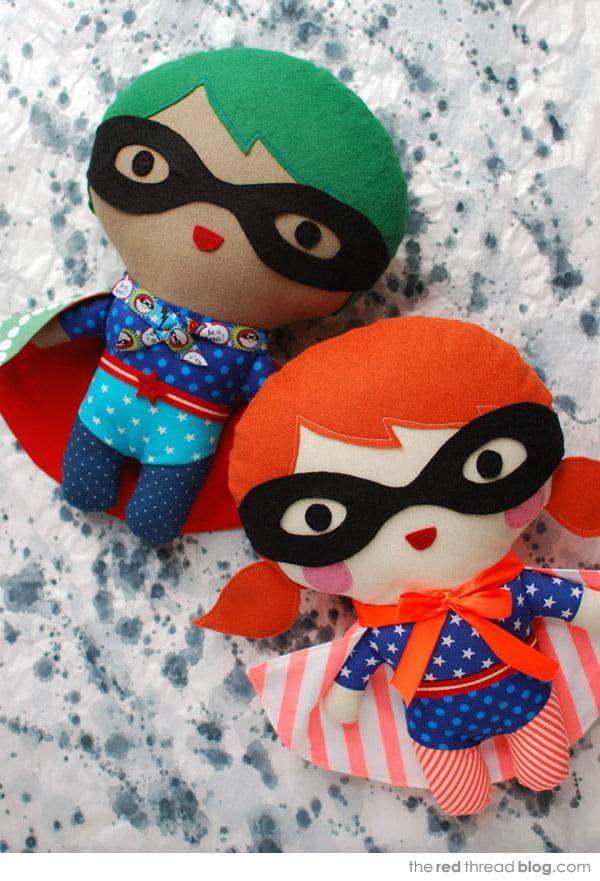 muñecos de fieltro caseros
