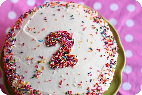 Tarta de cumpleaños faciles con número