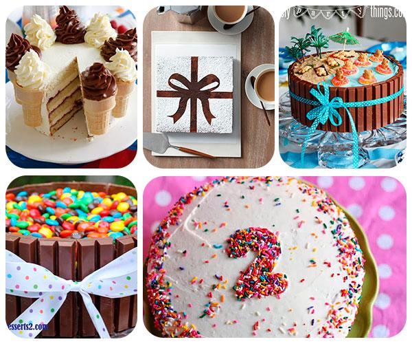 5 tartas de cumplea os s per f ciles pequeocio - Como hacer un cumpleanos original ...