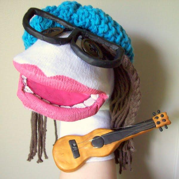 cómo hacer marionetas de calcetines