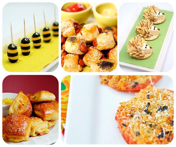 5 recetas f ciles de aperitivos para ni os pequeocio - Comidas de cumpleanos infantiles ...