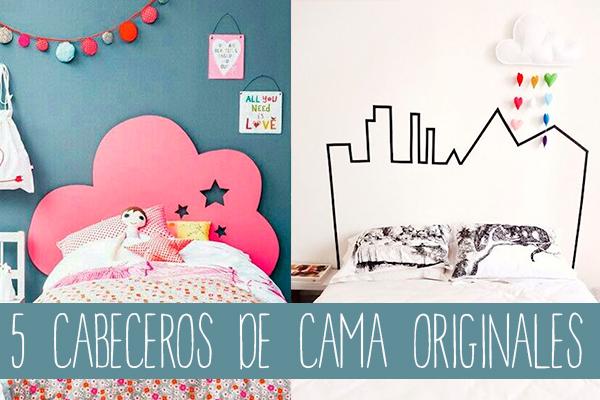5 cabeceros de cama originales pequeocio - Cabeceros originales hechos en casa ...