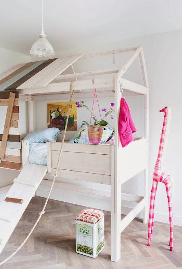 8 camas infantiles para dormir y jugar pequeocio - Casa ninos ikea ...