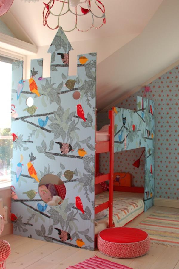 8 camas infantiles para dormir y jugar pequeocio - Ikea habitaciones infantiles literas ...