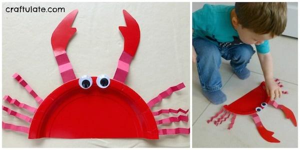 6 manualidades infantiles bajo el mar pequeocio - Material para manualidades infantiles ...